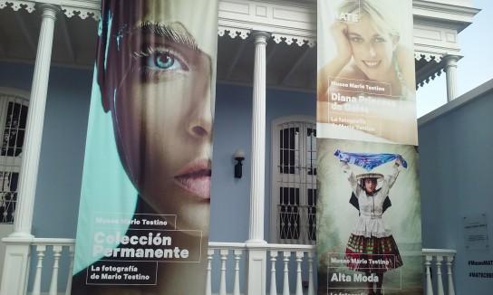 El Museo de Mario Testino, fotógrafo internacional de celebrities nacido en Lima. La colección permanente posee fotos de las grandes modelos top y en este momento se presenta una exhibición especial de imágenes de Lady Di.